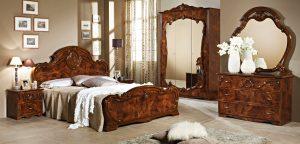 Итальянская спальня «ТИЦИАНА»  Орех