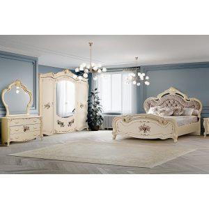 Итальянская спальня  «АЛЬБА»  Белая