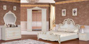 Итальянская спальня «ВЕРСАЛЬ»  Беж