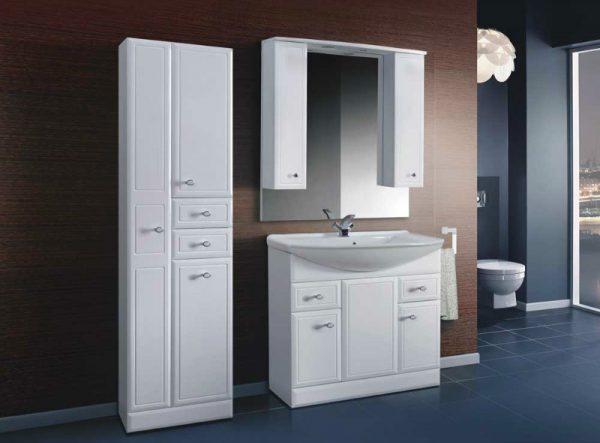 Зеркало со шкафом Адажио В 105 Ш