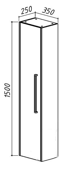 Шкаф подвесной Бёрн ПН 35