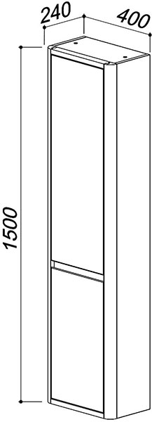 Шкаф подвесной Альмерия ПН35