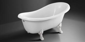 Ванна из искусственного мрамора Ладья 1700