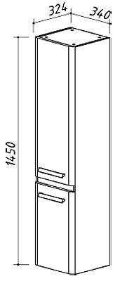 Навесной шкаф Марсель П30