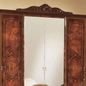 Шкаф 4-х дверный с зеркалами ДЖУЛИАНА