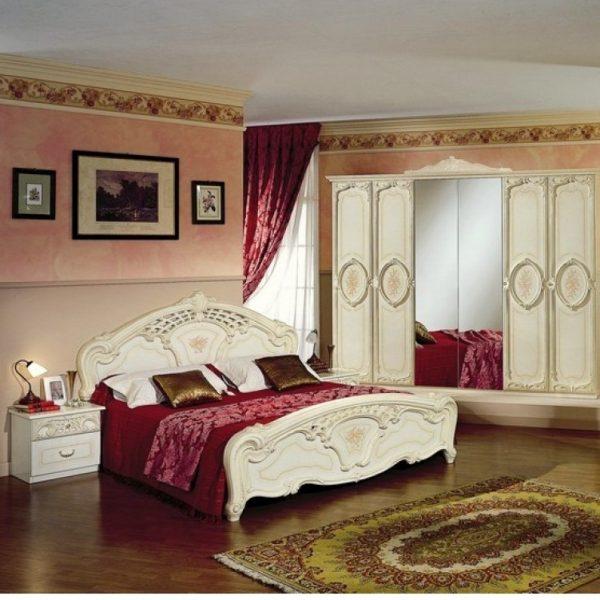 Кровать 2-х спальная  1400*2000 Роза