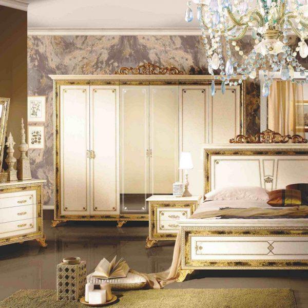 Шкаф 6-ти дверный с зеркалами Катя