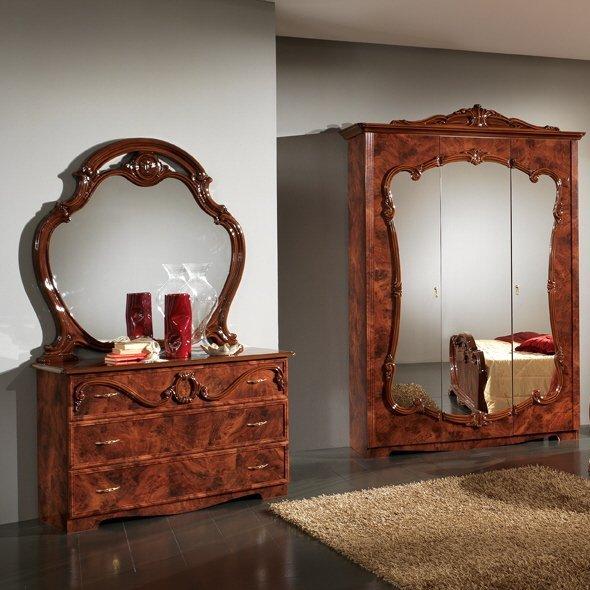 Комод  с зеркалом ТИЦИАНА