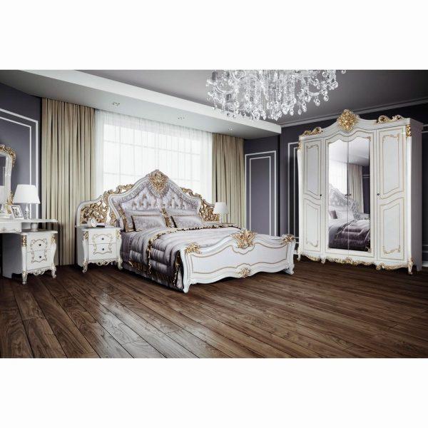 Итальянская спальня «Джоконда» крем глянец